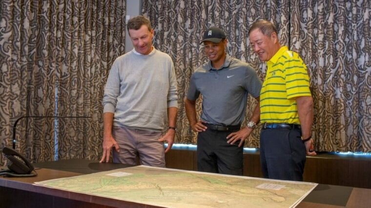 WHAT IS TIGER WOODS' CONTRIBUTION TO THE MĀKAHA VALLEY RESORT?